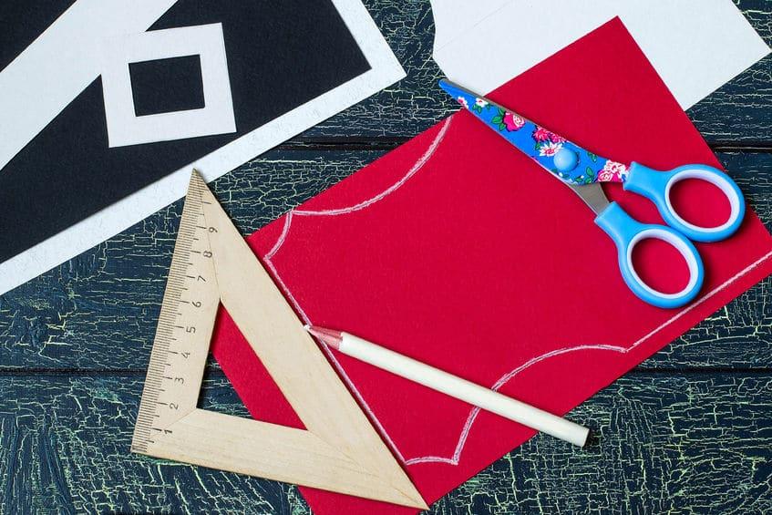 bricolage de noël en papier