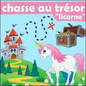 chasse licorne