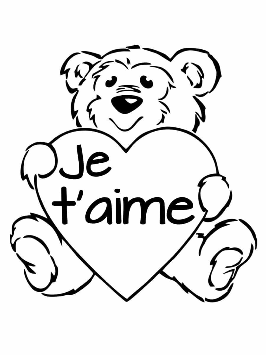Coloriage Coeur Amour Gratuit.Coloriage Saint Valentin 40 Dessins A Imprimer Gratuitement