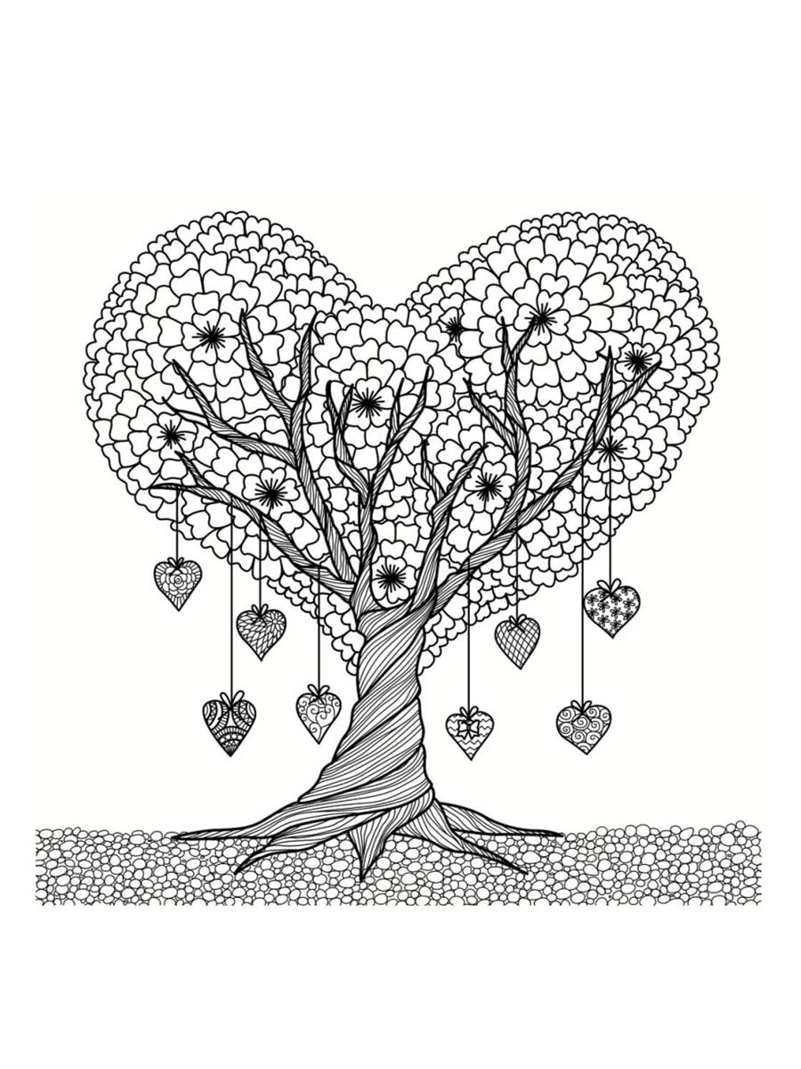 Coloriage Saint Valentin 40 Dessins à Imprimer Gratuitement