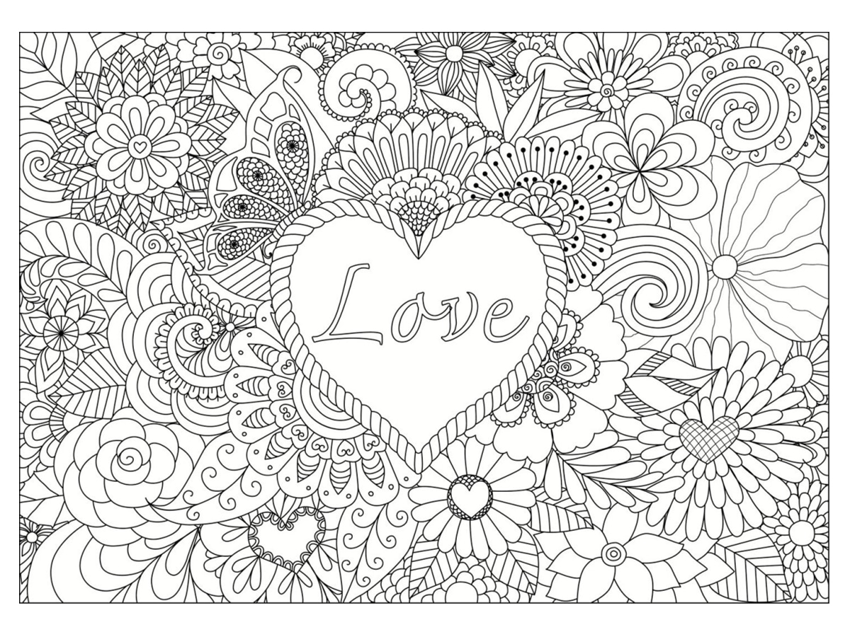 Coloriage Saint Valentin 40 Dessins A Imprimer Gratuitement
