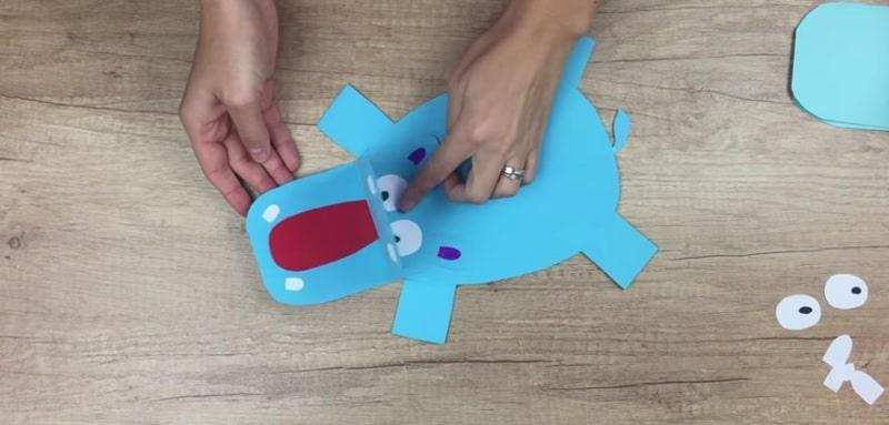 comment faire un hippopotame en papier