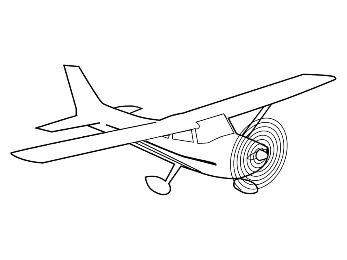 Coloriage Avion Une Quarantaine De Dessins à Imprimer