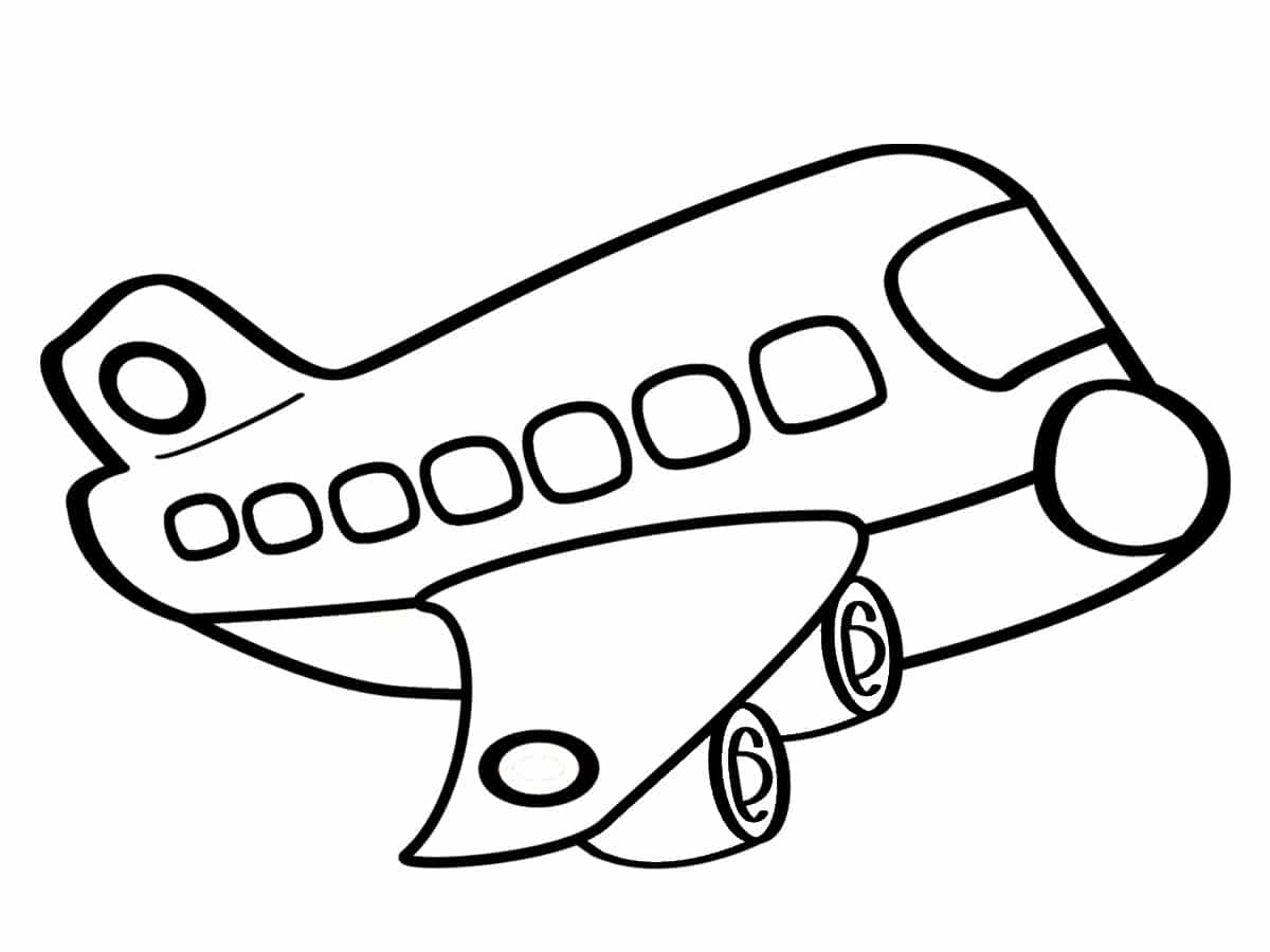 Coloriage avion une quarantaine de dessins imprimer gratuitement - Coloriage avion ...