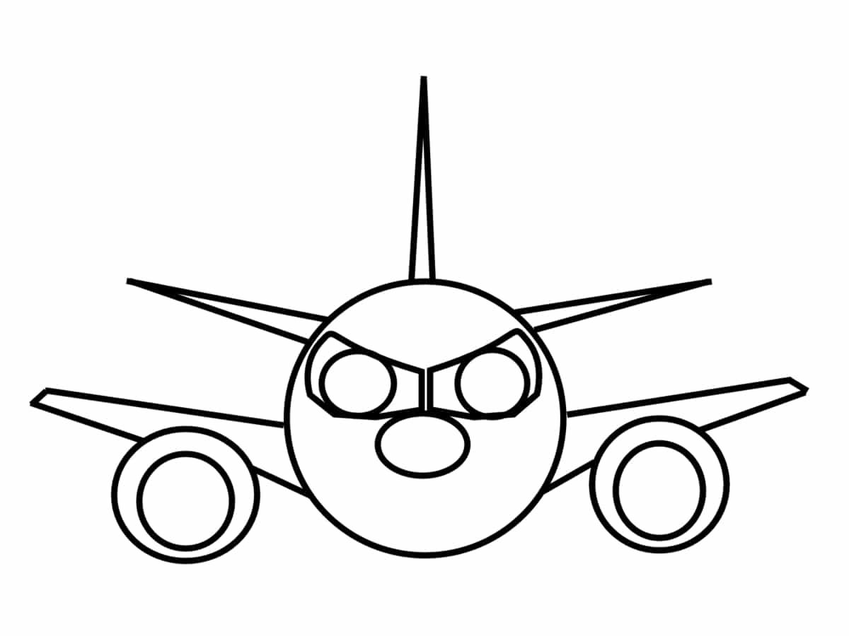 Coloriage Avion Facile.Coloriage Avion Une Quarantaine De Dessins A Imprimer Gratuitement