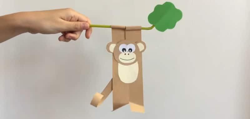 comment faire un singe en papier