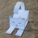 Comment faire un chat en papier facile : une idée simple