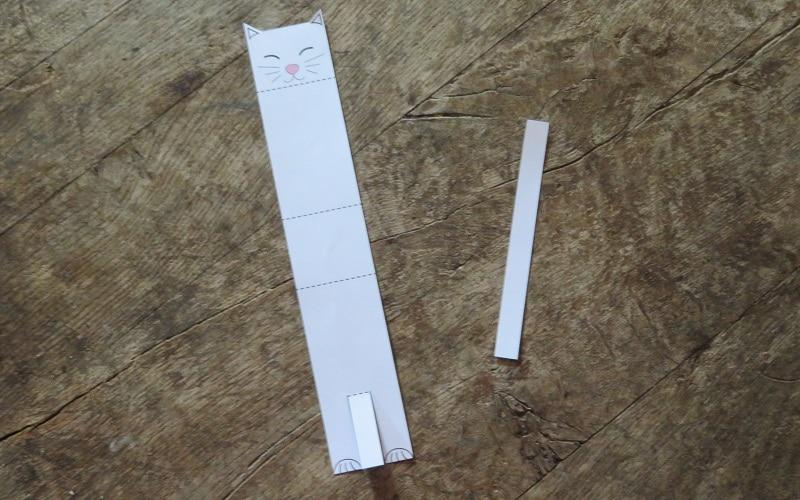 faire un chat en papier