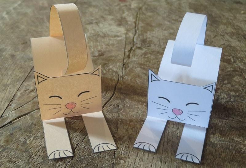 comment faire un chat en papier