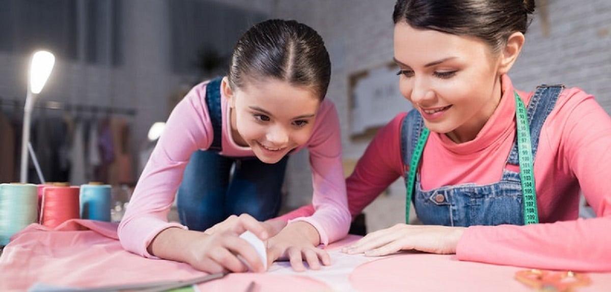 faire de la couture avec les enfants