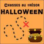 chasses au trésor halloween