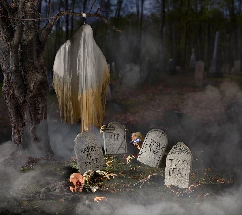 faire un cimetière halloween