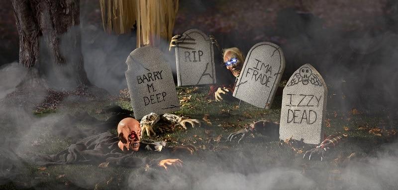 faire un cimetière pour halloween