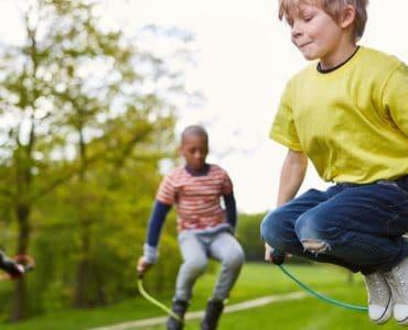 jeux de corde à sauter
