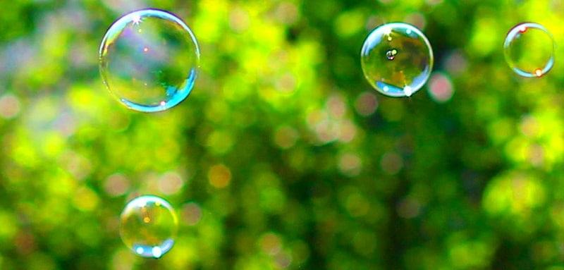 Recette de bulle de savon qui n'éclate pas