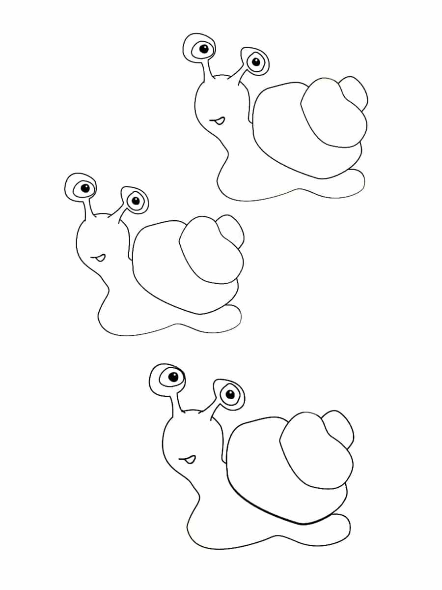 Coloriage escargot : 20 dessins à imprimer gratuitement