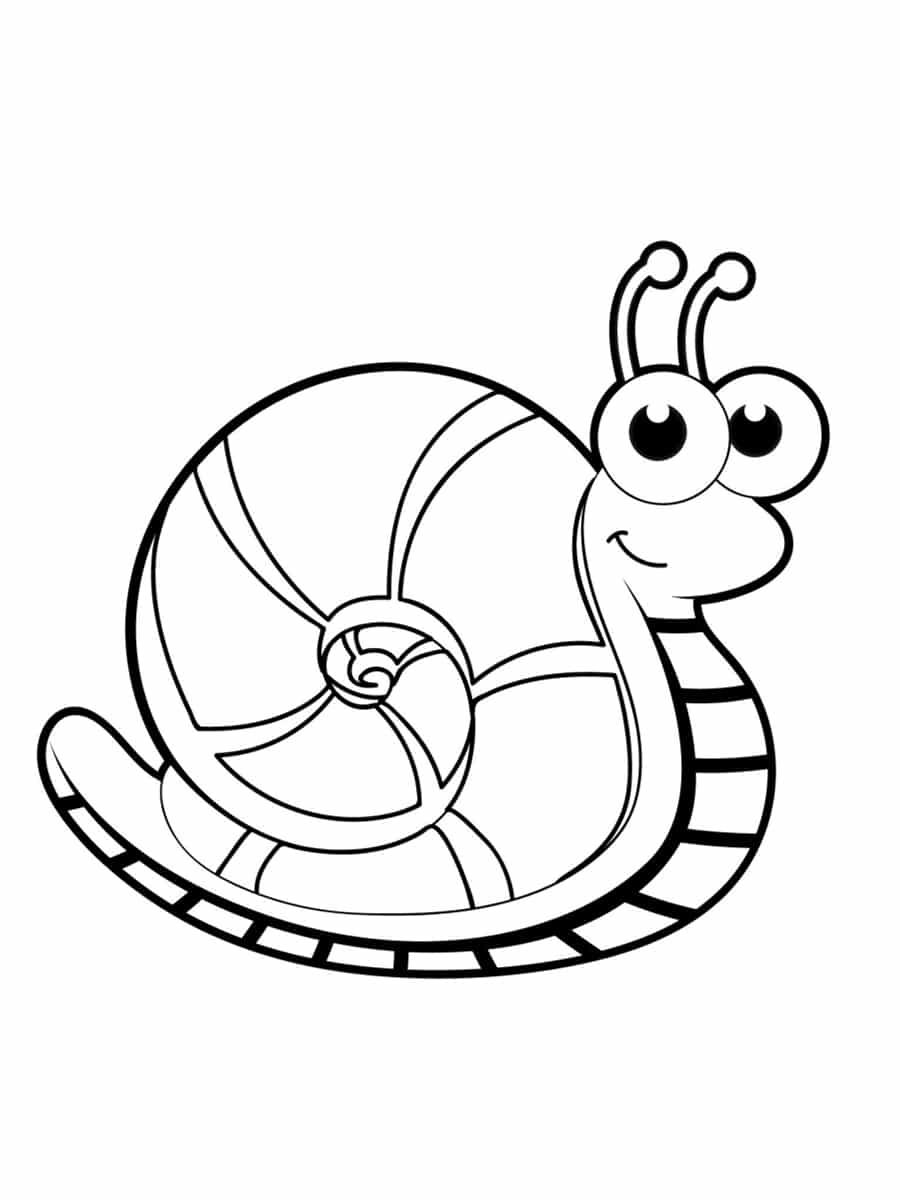 Coloriage Escargot 20 Dessins A Imprimer Gratuitement