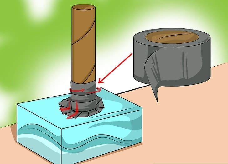 faire le marteau de thor en carton
