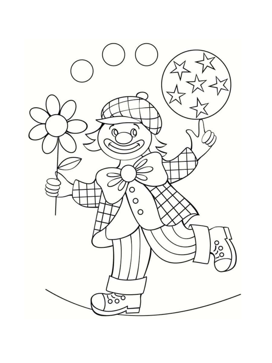 Coloriage cirque : 28 dessins à imprimer gratuitement