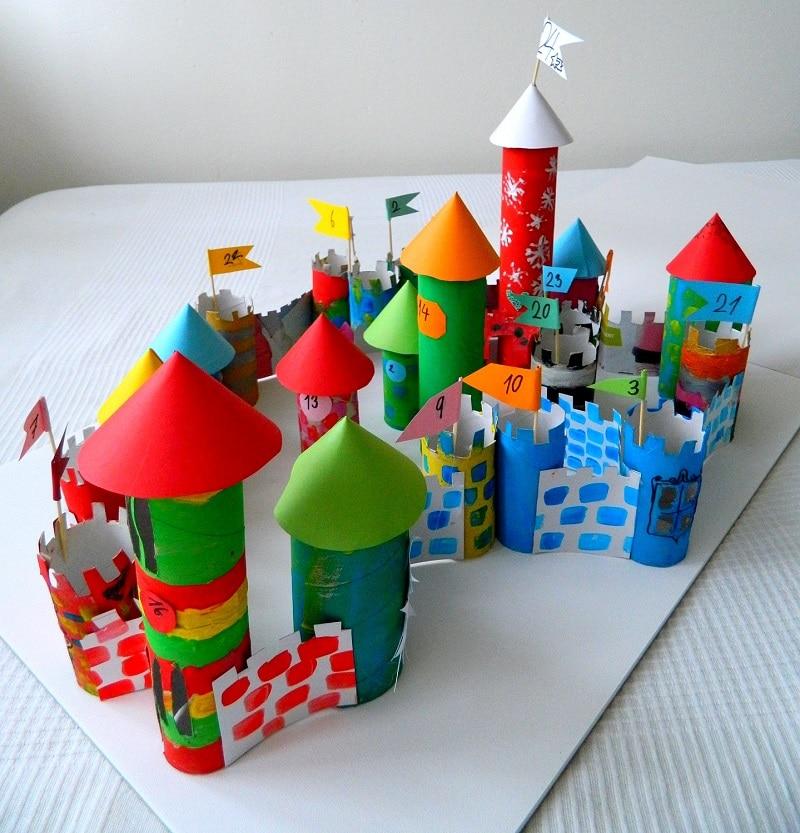 calendrier noel chateau