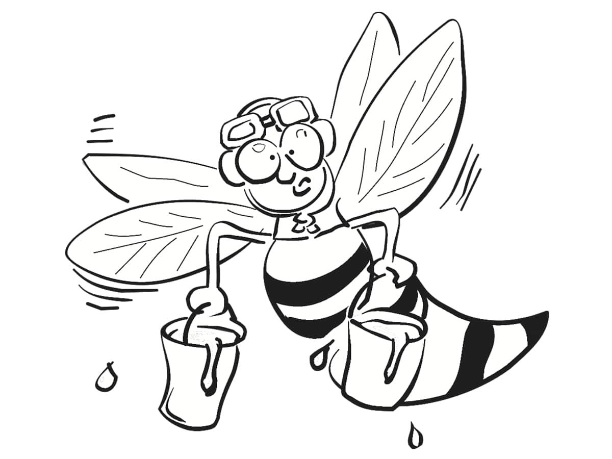 drole d'abeille