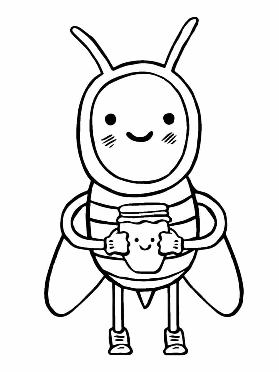 abeille cartoon