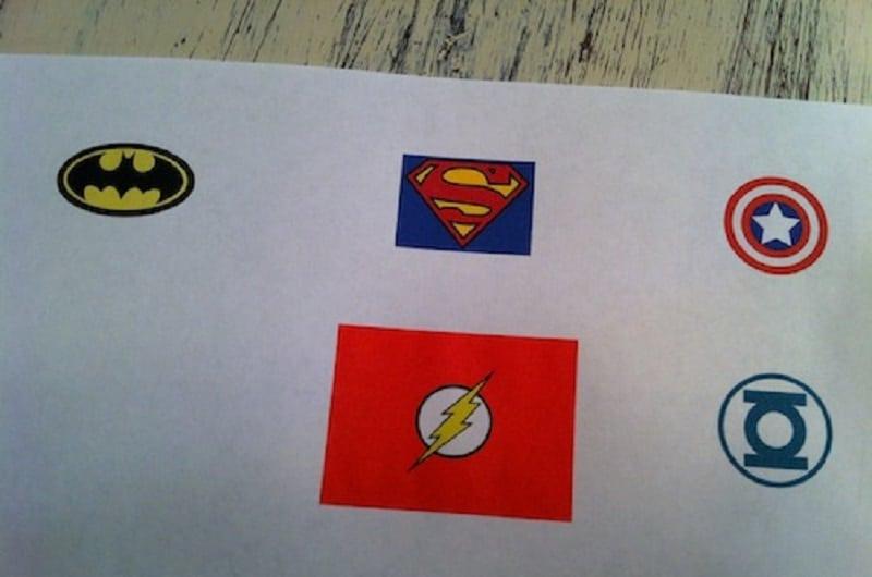 logos super heros