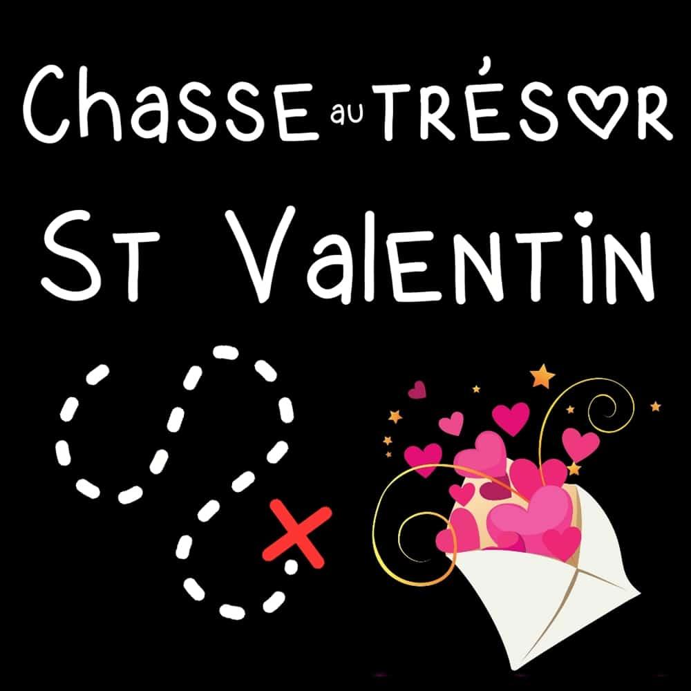 chasse au trésor st valentin