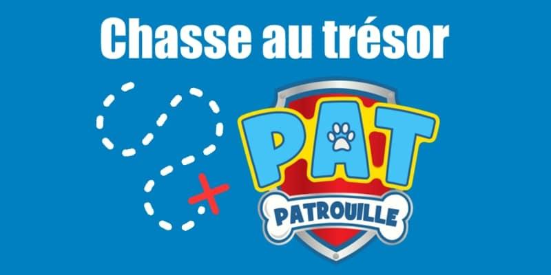 Chasse au trésor Pat Patrouille