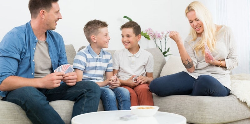jeux de cartes pour toute la famille