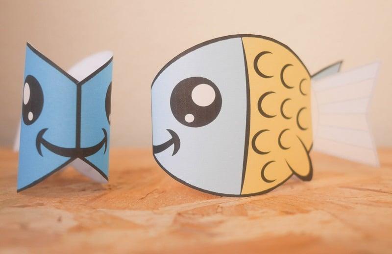 poisson en papier