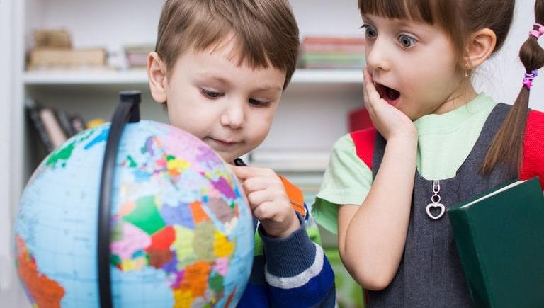 Activité géographie maternelle