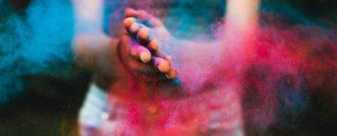 bataille de poudre de couleur