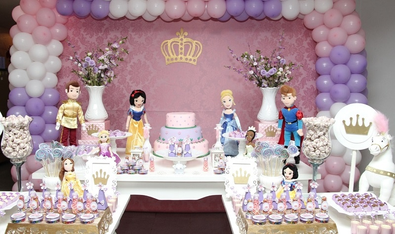 decoration anniversaire fille