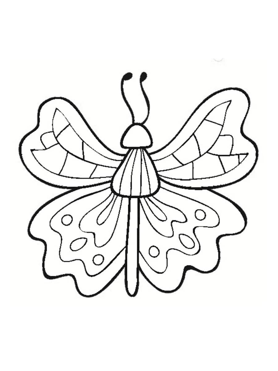 papillon coloriages