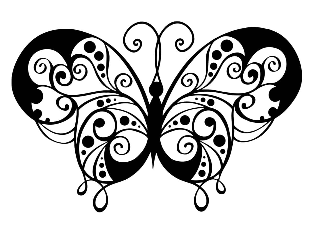papillon artistique