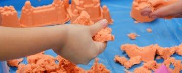 activités avec du sable