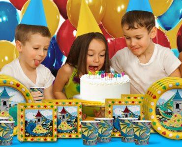 Jeux anniversaire dragon