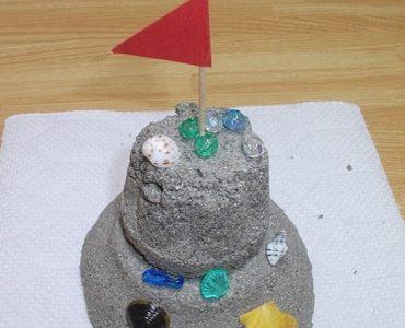 château de sable permanent