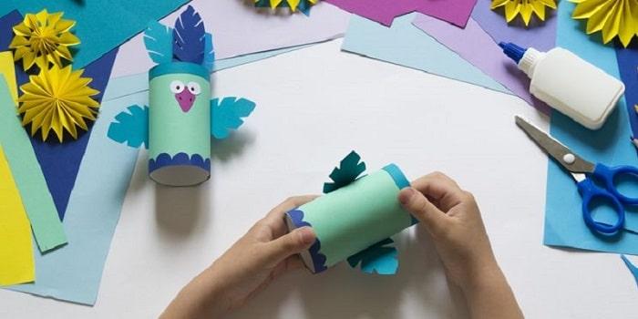 bricolage oiseau facile