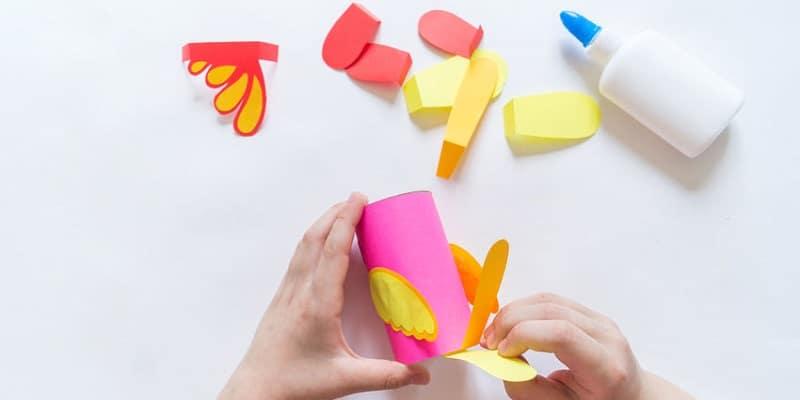 bricolage rouleau papier toilette oiseau