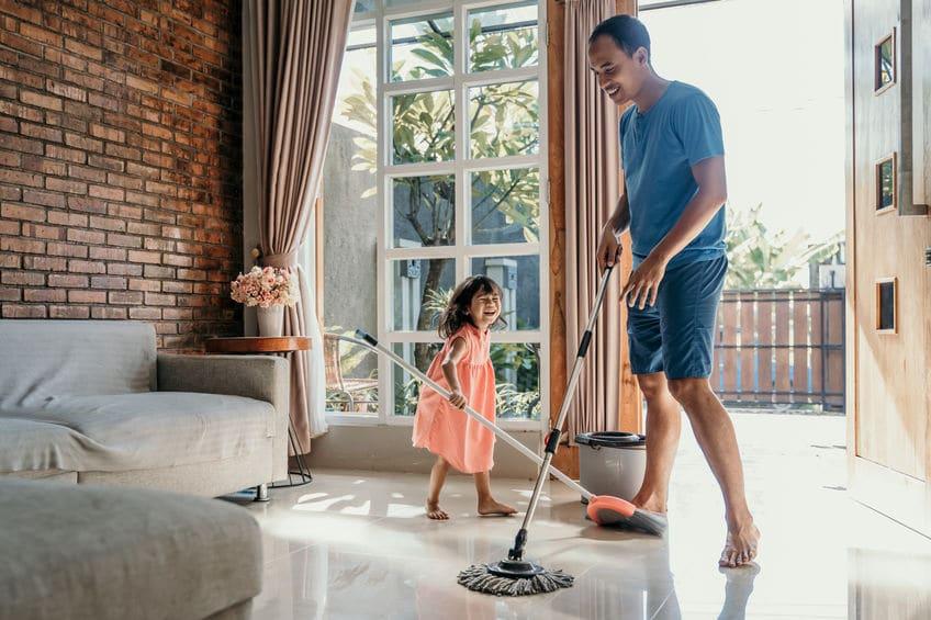 nettoyage maison enfant