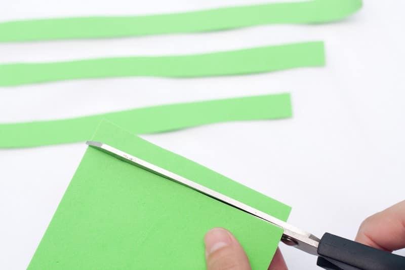 papier mousse vert