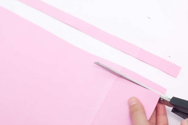 papier mousse rose