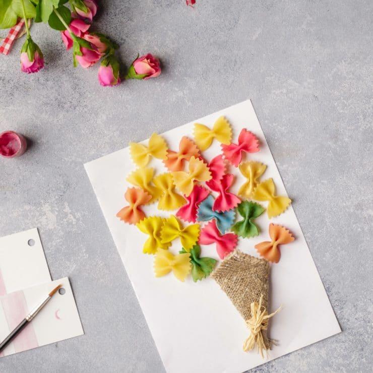 carte fleur originale