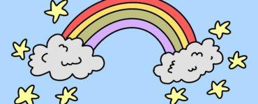 coloriage arc en ciel