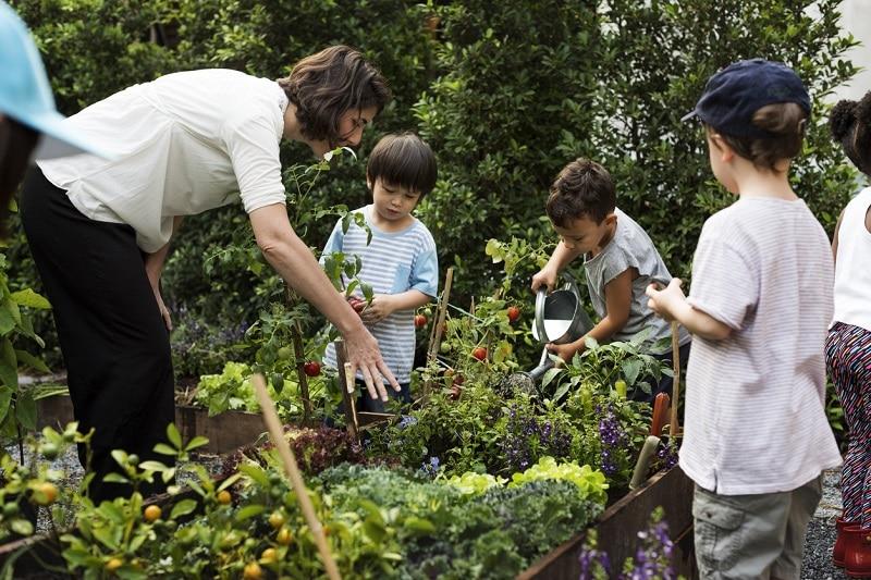 jardinage enfants