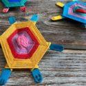 Fabriquer une tortue de laine : un modèle facile et original