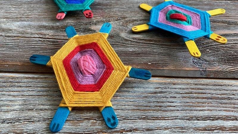 fabriquer une tortue