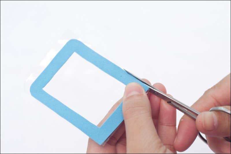 activité manuelle papier mousse